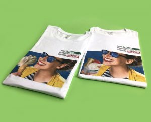 T-shirt - Ama, Mangia, Sorridi